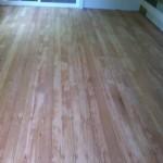 Fir deck after sanding