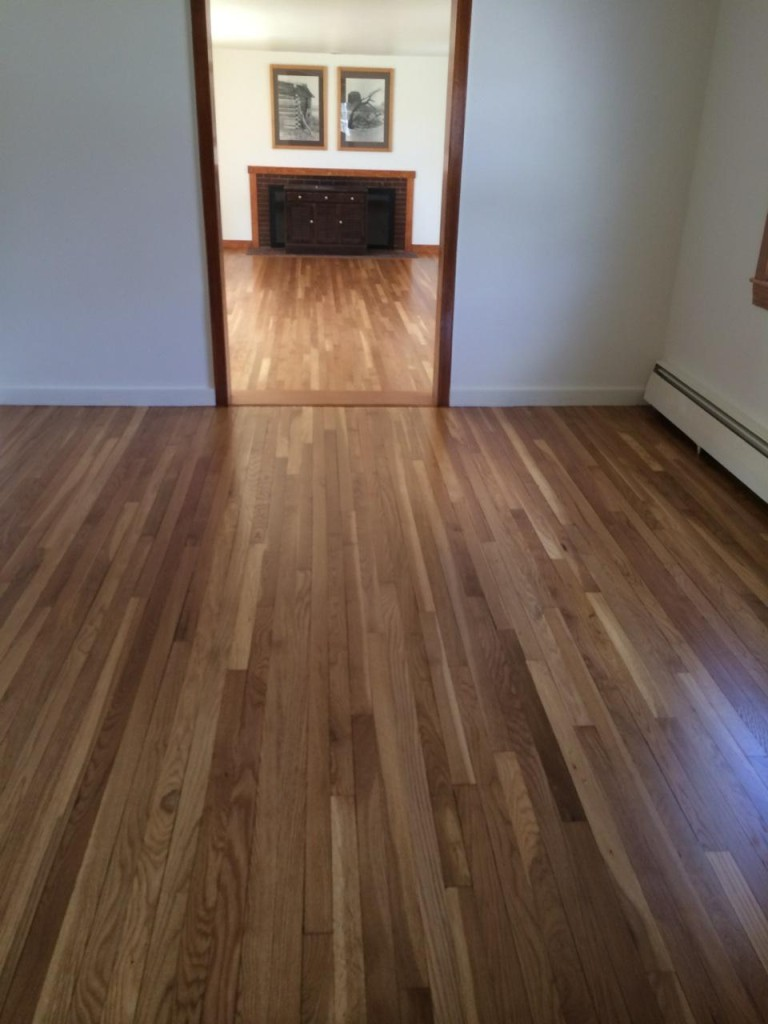 Resanded Floors in Sudbury MA