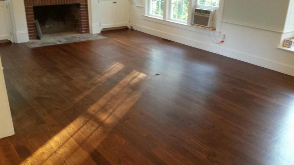 Staining White Oak Hardwood Floors