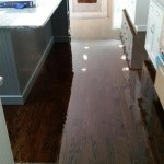 Dark Walnut Stained Floors