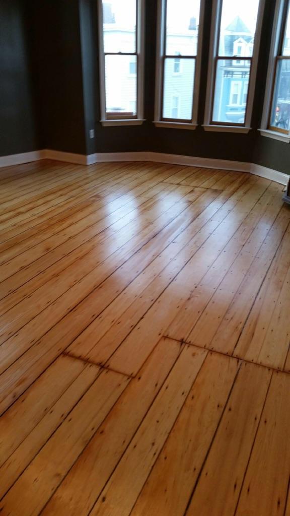 Pine Floors in Cambridge MA
