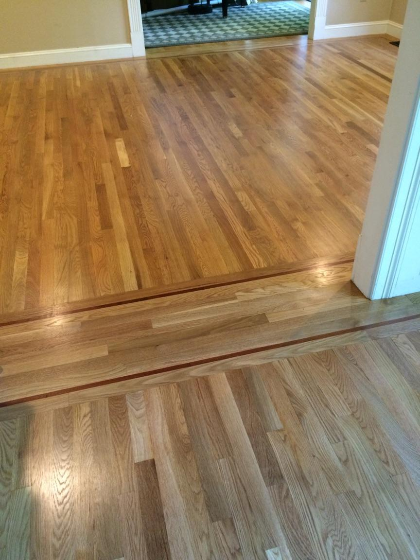 resanded white oak
