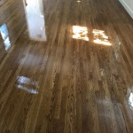White Oak with Golden Brown Stain