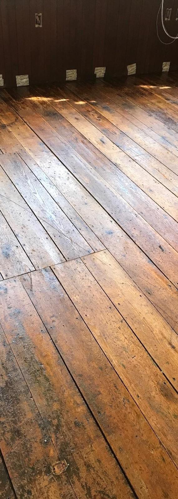 150 year old pine floors