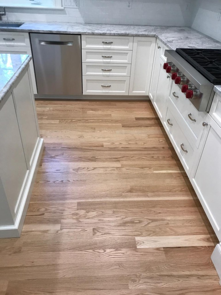 3 inch red oak floors
