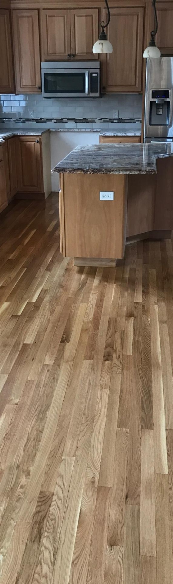 natural white oak floors