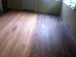 refinishing hardwood floors