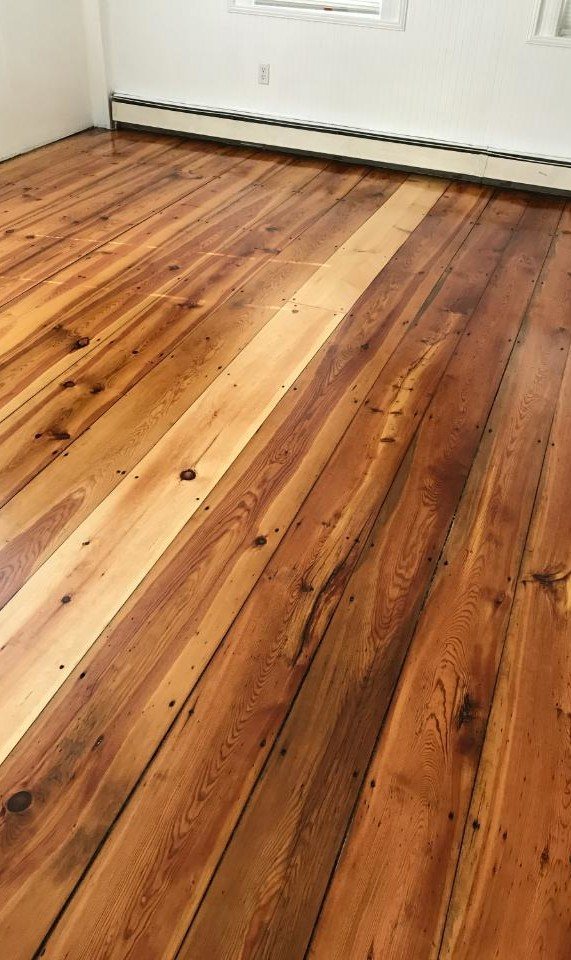 hardwood floor finish