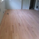 hardwood flooring in newly renovated home