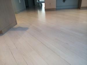 maple floor installation in Sudbury
