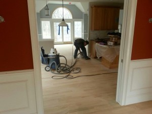 oak hardwood floor installation