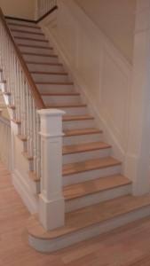 old maple hardwood floor refinish