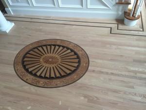 red oak hardwood floor install