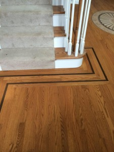 red oak hardwood floor
