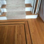 red oak floor installation