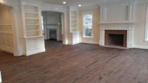 Red Oak hardwood floors in Wellesley