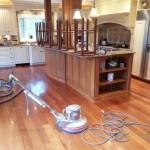 Santos Mahogany Floor in Shrewsbury, MA
