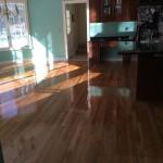 white oak floors in marlboro kitchen