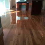white oak kitchen floor
