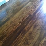 antique brown stain on hardwood floors