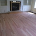 red oak hardwood floors before stain