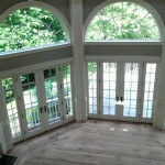 hardwood floors before stain