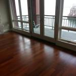 hardwood flooring in apartment