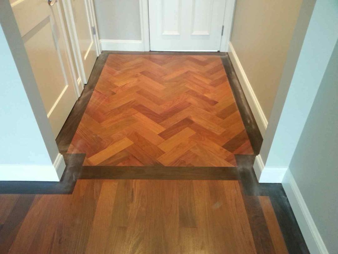 Custom herringbone pattern hardwood flooring in ma for Custom hardwood flooring