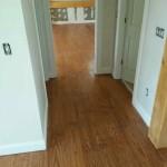 hardwood floors in hallway