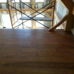 hardwood floor installation in new home