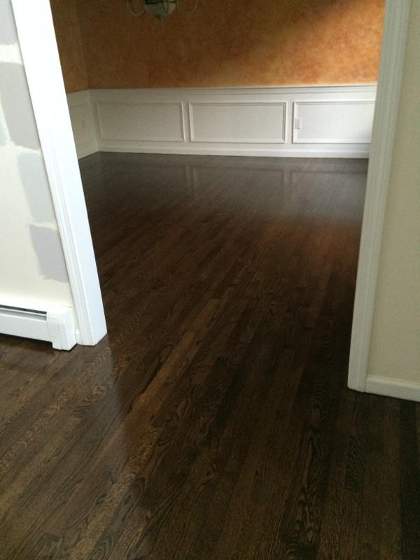 Refinishing Red Oak Hardwood Floors In Marlboro Ma