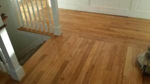 Resanded Birch Floors