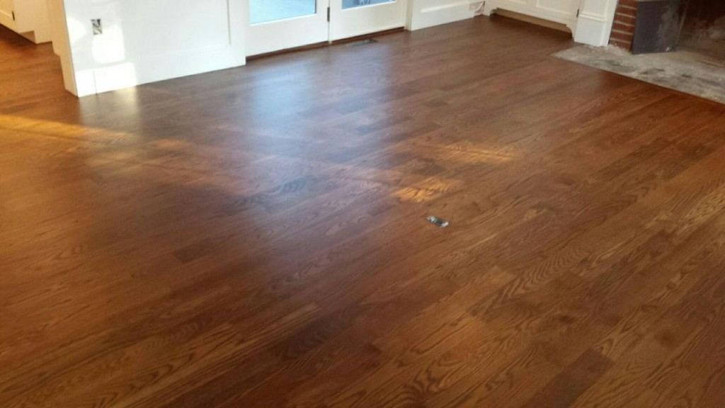 Staining 4 Quot White Oak Floors In Carlisle Ma Central