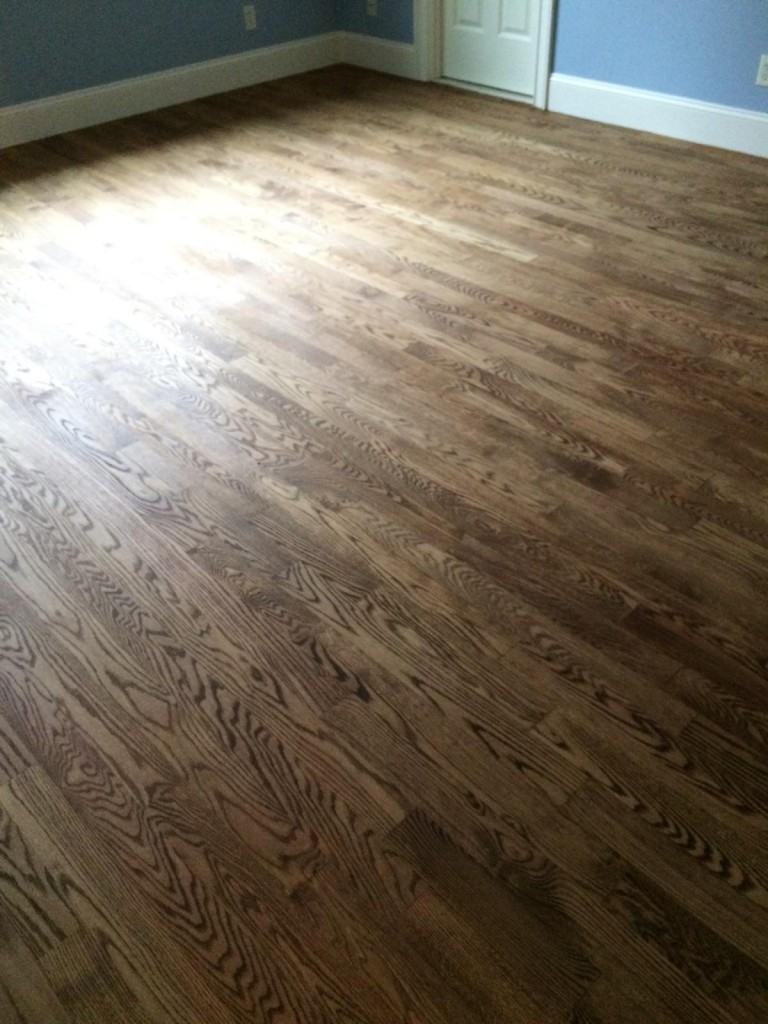 Resanding Red Oak Floors in Westboro, MA | Central Mass ...