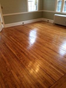 maple floors with tung oil finish