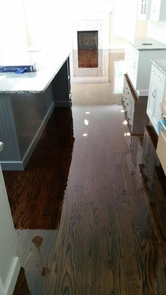 Refinishing Dark Walnut Hardwood Floors Central Mass Hardwood Inc