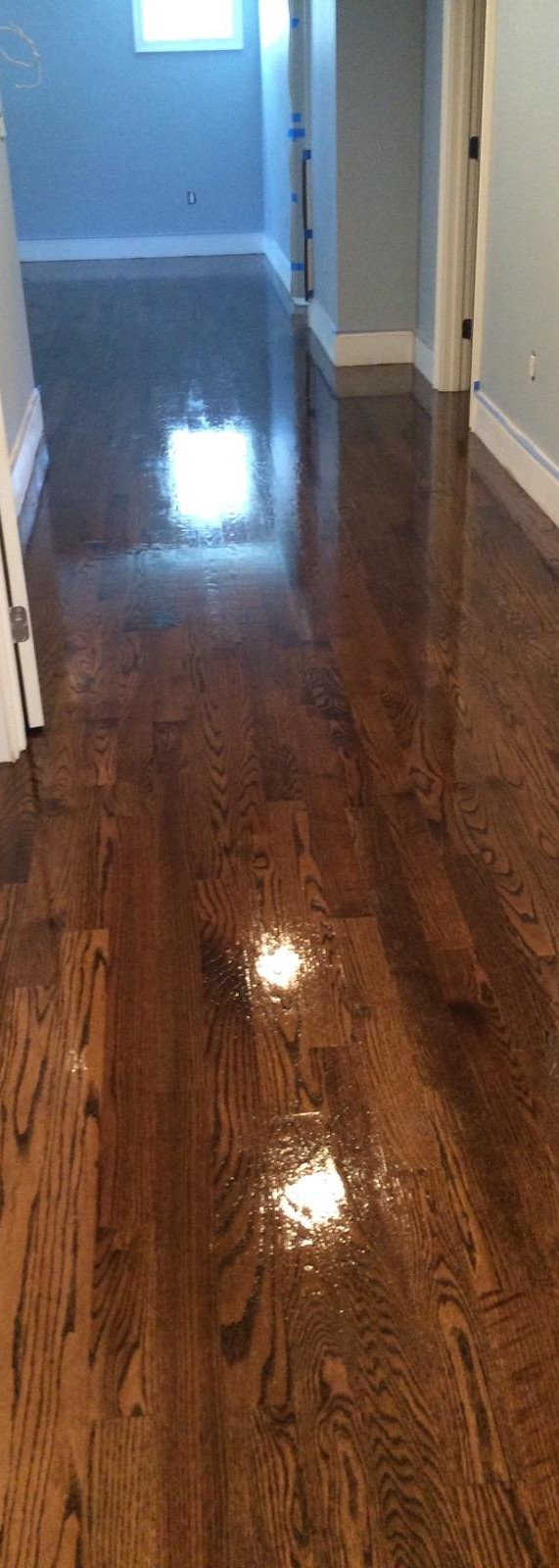 dark hardwood floor