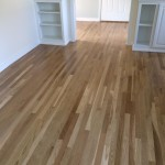 hardwood floors in newly renvoated room