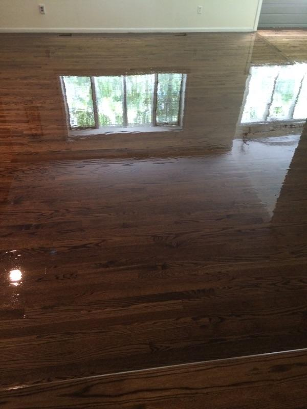 New Red Oak Installed In Marlborough Ma Central Mass Hardwood Inc