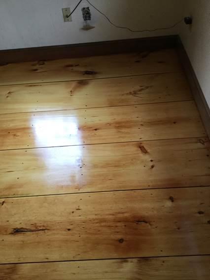 Before Amp After Eastern White Pine Hardwood Floors