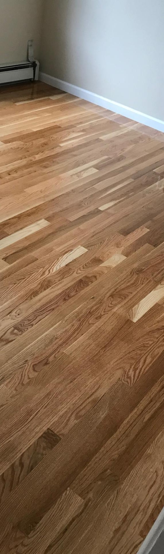 natural white oak hardwood floors