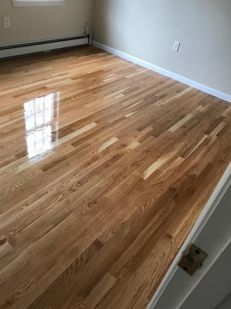 Natural White Oak Hardwood Floors