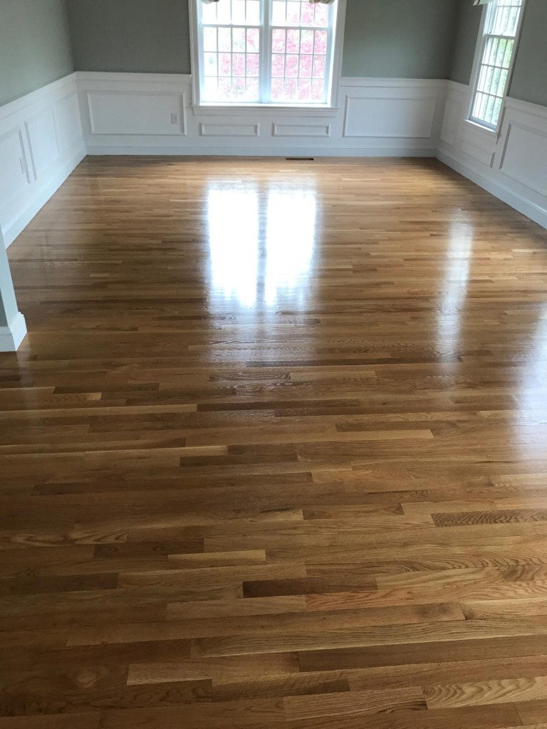 Natural White Oak Floors With Oil Based Finish Central