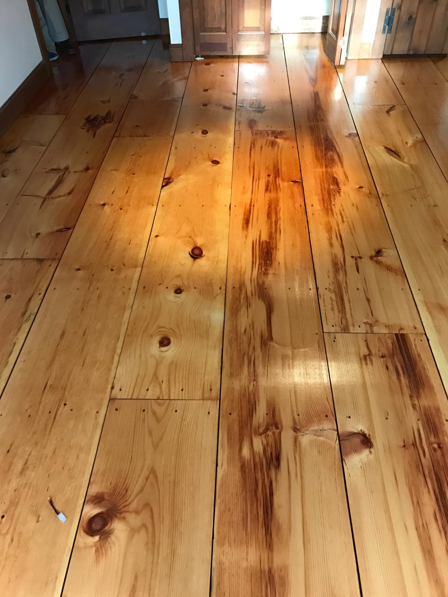 pine hardwood floors