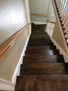 red oak hardwood floors with jacobean stain