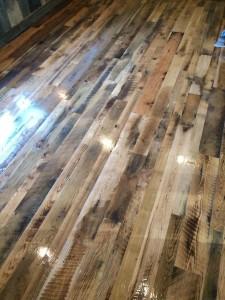 Reclaimed White Oak Saw Mill