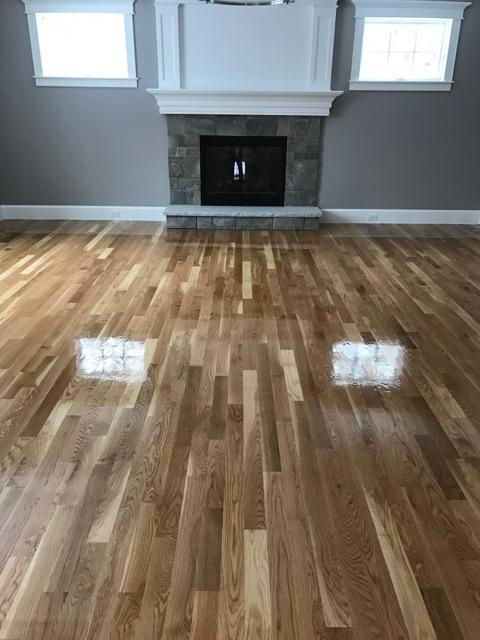 "3"" White Oak Floors"