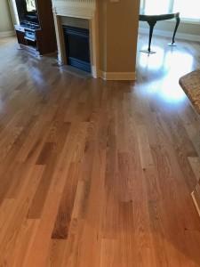 """4 1/4"""" mirage red oak natural prefinished flooring"""