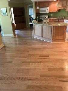 hardwood floors refinished in Northborough MA