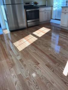 red oak hardwood floors with oil based polyurethane
